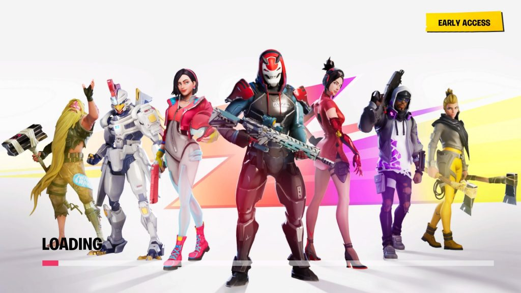 picture of different fortnite figures