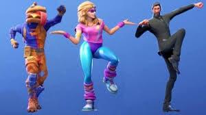 topic on fortnite dances