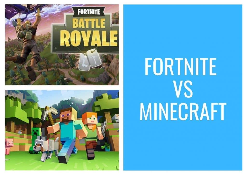 about fortnite vs minecraft